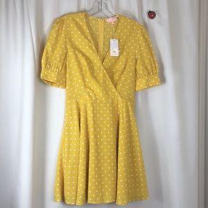 Re:named, polka dot dress, NWT, Size 4.